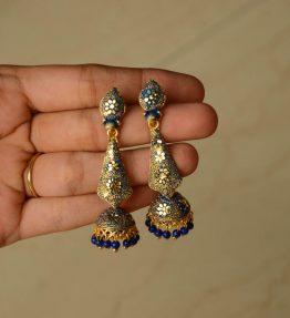 Ethnic Dangling Jhumkis (5)