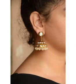 Gold Jhumki (3)
