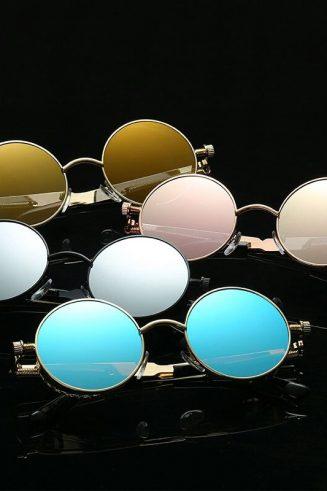 Vintage Champagne Sunglasses (2)