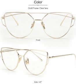 Austin Bridge Sunnies- Clear Gold