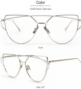 Austin Bridge Sunnies- Clear Silver