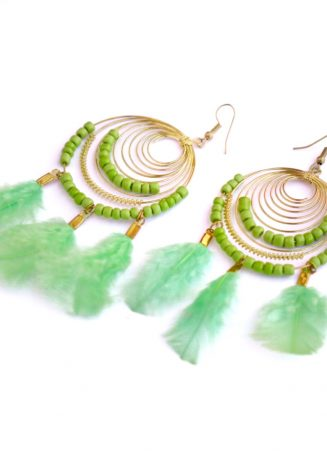 Dreamcatcher Earrings (1)