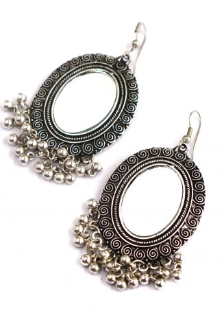 Mirrorwork Earrings 02
