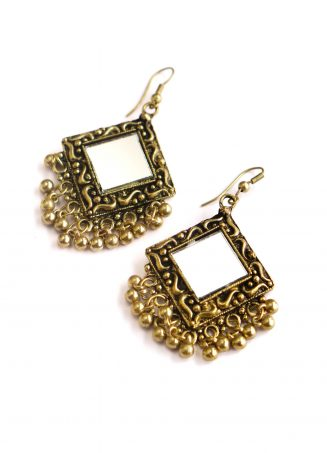 Mirrorwork Earrings 06