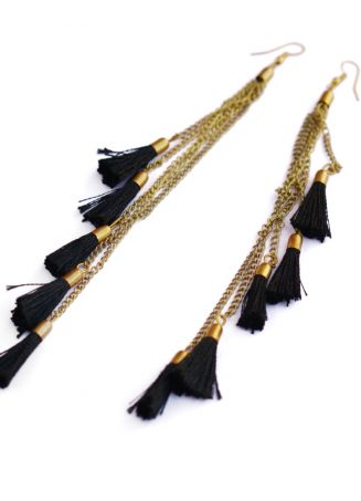 Tassel Shoulder Duster Earrings (1)